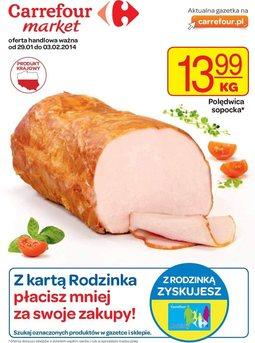 Gazetka promocyjna Carrefour, ważna od 29.01.2014 do 03.02.2014.