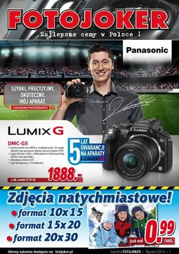 Gazetka promocyjna Fotojoker, ważna od 28.01.2014 do 01.02.2014.