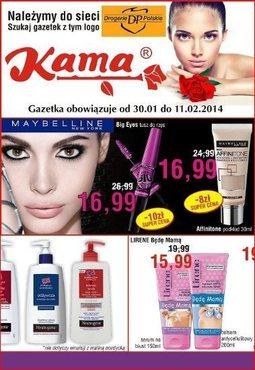 Gazetka promocyjna Kama Beauty, ważna od 30.01.2014 do 11.02.2014.