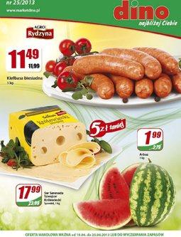 Gazetka promocyjna Dino, ważna od 19.06.2013 do 25.06.2013.