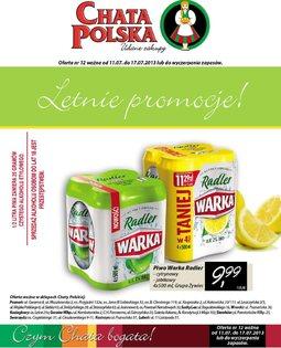 Gazetka promocyjna Chata Polska, ważna od 11.07.2013 do 17.07.2013.