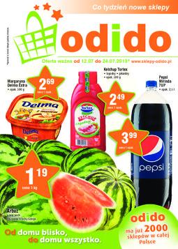 Gazetka promocyjna ODIDO, ważna od 12.07.2013 do 24.07.2013.