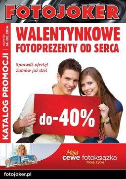 Gazetka promocyjna Fotojoker, ważna od 05.02.2014 do 14.02.2014.