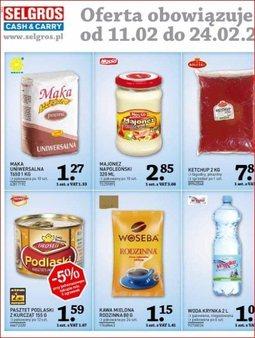 Gazetka promocyjna Selgros Cash&Carry, ważna od 11.02.2014 do 24.02.2014.