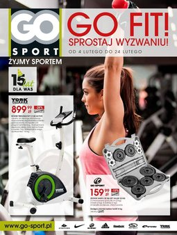 Gazetka promocyjna Go Sport, ważna od 04.02.2014 do 24.02.2014.