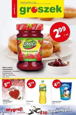 Gazetka promocyjna Groszek , ważna od 13.02.2014 do 25.02.2014.