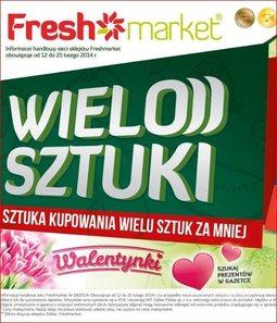 Gazetka promocyjna Freshmarket, ważna od 12.02.2014 do 25.02.2014.