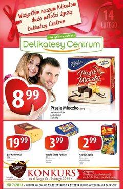 Gazetka promocyjna Delikatesy Centrum, ważna od 13.02.2014 do 19.02.2014.