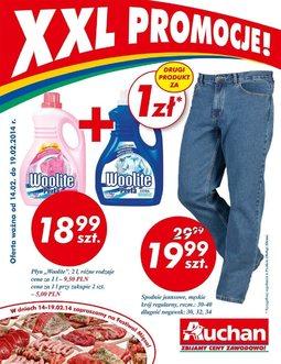 Gazetka promocyjna Auchan, ważna od 14.02.2014 do 19.02.2014.