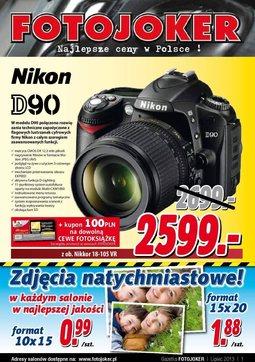 Gazetka promocyjna Fotojoker, ważna od 11.07.2013 do 23.08.2013.