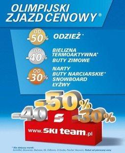Gazetka promocyjna Ski Team, ważna od 18.02.2014 do 28.02.2014.