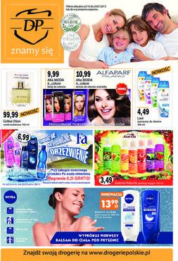 Gazetka promocyjna Drogerie Polskie, ważna od 10.07.2013 do 24.07.2013.