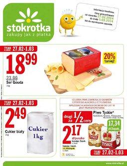 Gazetka promocyjna Stokrotka, ważna od 27.02.2014 do 05.03.2014.