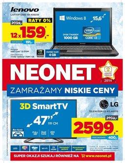 Gazetka promocyjna Neonet, ważna od 27.02.2014 do 05.03.2014.