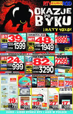 Gazetka promocyjna RTV EURO AGD, ważna od 28.02.2014 do 10.04.2014.