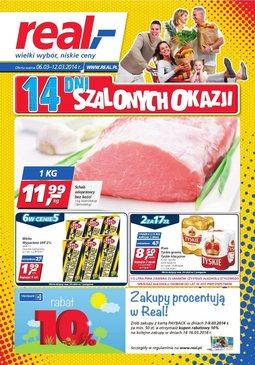 Gazetka promocyjna Real, ważna od 06.03.2014 do 12.03.2014.