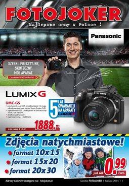Gazetka promocyjna Fotojoker, ważna od 03.03.2014 do 09.03.2014.