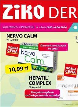 Gazetka promocyjna Ziko Dermo , ważna od 05.03.2014 do 04.04.2014.
