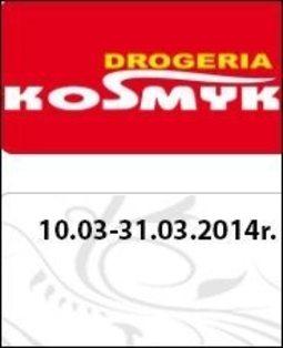 Gazetka promocyjna Drogeria Kosmyk, ważna od 10.03.2014 do 31.03.2014.