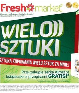 Gazetka promocyjna Freshmarket, ważna od 12.03.2014 do 25.03.2014.