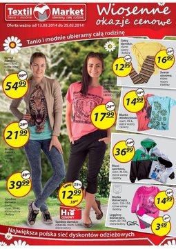 Gazetka promocyjna Textil Market, ważna od 13.03.2014 do 25.03.2014.