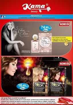 Gazetka promocyjna Kama Beauty, ważna od 19.03.2014 do 01.04.2014.