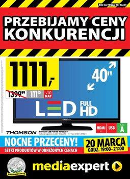 Gazetka promocyjna Media Expert, ważna od 20.03.2014 do 26.03.2014.
