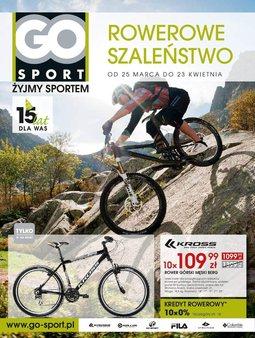 Gazetka promocyjna Go Sport, ważna od 25.03.2014 do 23.04.2014.