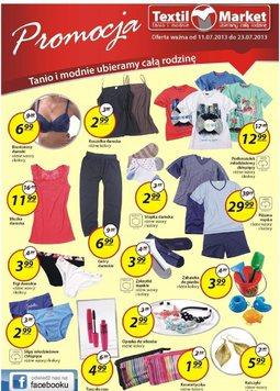 Gazetka promocyjna Textil Market, ważna od 11.07.2013 do 23.07.2013.
