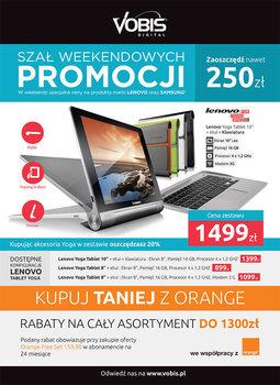Gazetka promocyjna Vobis, ważna od 01.04.2014 do 12.05.2014.