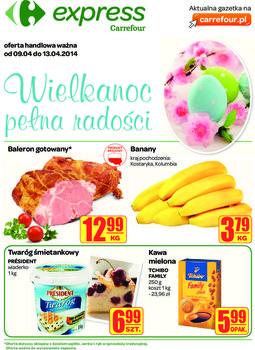 Gazetka promocyjna Carrefour, ważna od 09.04.2014 do 13.04.2014.