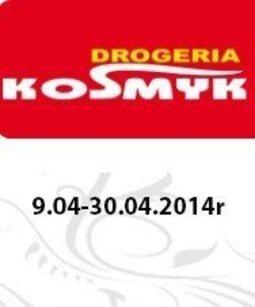 Gazetka promocyjna Drogeria Kosmyk, ważna od 09.04.2014 do 30.04.2014.