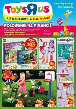 Gazetka promocyjna Toys''R''Us, ważna od 10.04.2014 do 18.04.2014.