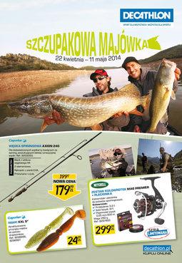 Gazetka promocyjna Decathlon, ważna od 22.04.2014 do 11.05.2014.