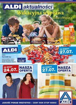 Gazetka promocyjna Aldi, ważna od 24.07.2013 do 30.07.2013.