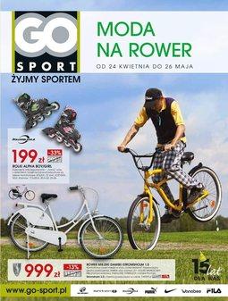 Gazetka promocyjna GO Sport, ważna od 24.04.2014 do 26.05.2014.