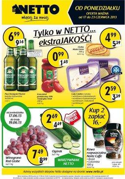Gazetka promocyjna Netto, ważna od 17.06.2013 do 23.06.2013.