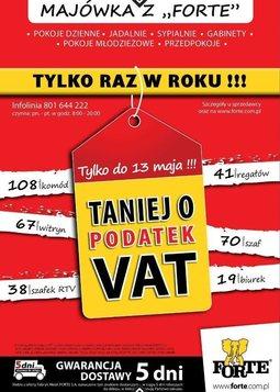 Gazetka promocyjna Forte, ważna od 29.04.2014 do 13.05.2014.