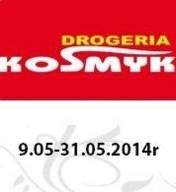 Gazetka promocyjna Drogeria Kosmyk, ważna od 09.05.2014 do 31.05.2014.