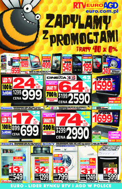 Gazetka promocyjna RTV EURO AGD, ważna od 09.05.2014 do 01.06.2014.