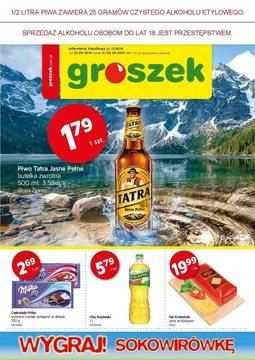 Gazetka promocyjna Groszek , ważna od 22.05.2014 do 03.06.2014.