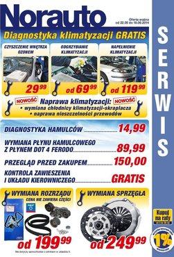 Gazetka promocyjna Norauto, ważna od 22.05.2014 do 18.06.2014.