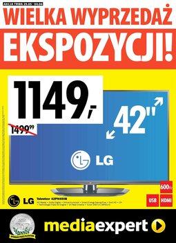 Gazetka promocyjna Media Expert, ważna od 29.05.2014 do 04.06.2014.