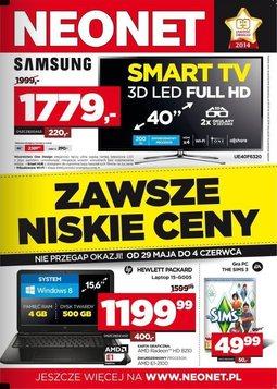 Gazetka promocyjna Neonet, ważna od 29.05.2014 do 04.06.2014.