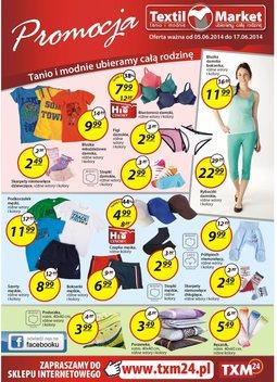 Gazetka promocyjna Textil Market, ważna od 05.06.2014 do 17.06.2014.