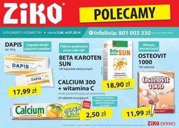 Gazetka promocyjna Ziko Dermo , ważna od 05.06.2014 do 04.07.2014.