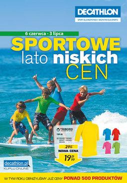 Gazetka promocyjna Decathlon, ważna od 06.06.2014 do 03.07.2014.