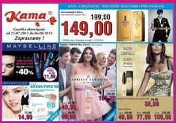 Gazetka promocyjna Kama Beauty, ważna od 25.07.2013 do 06.08.2013.
