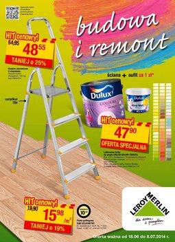 Gazetka promocyjna Leroy Merlin, ważna od 18.06.2014 do 08.07.2014.