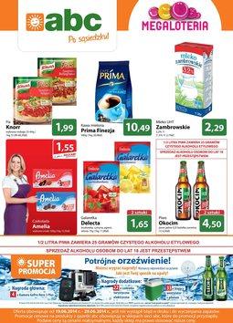Gazetka promocyjna ABC, ważna od 19.06.2014 do 29.06.2014.